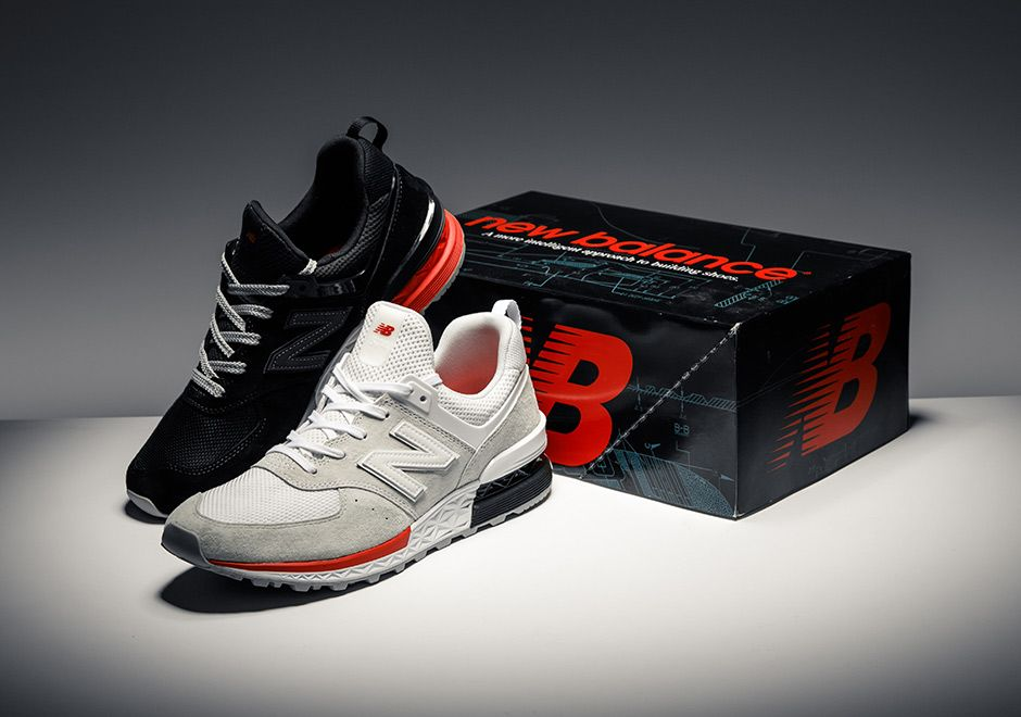 e417b88ca5a8b9  sneakers  news The New Balance 574 Sport Honors The Past With Retro  Shoeboxes