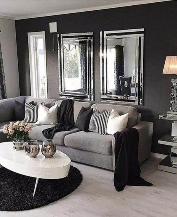 Pin On Stunning Gray Living Room, Gray Living Room Ideas