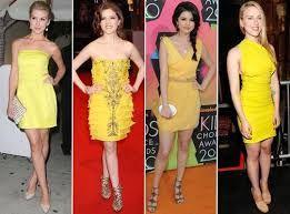 vestido amarelo brinco - Pesquisa Google