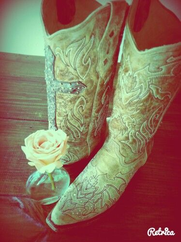 Boots my bf bought me in texas