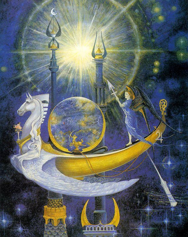 Астрологические открытки с днем рождения