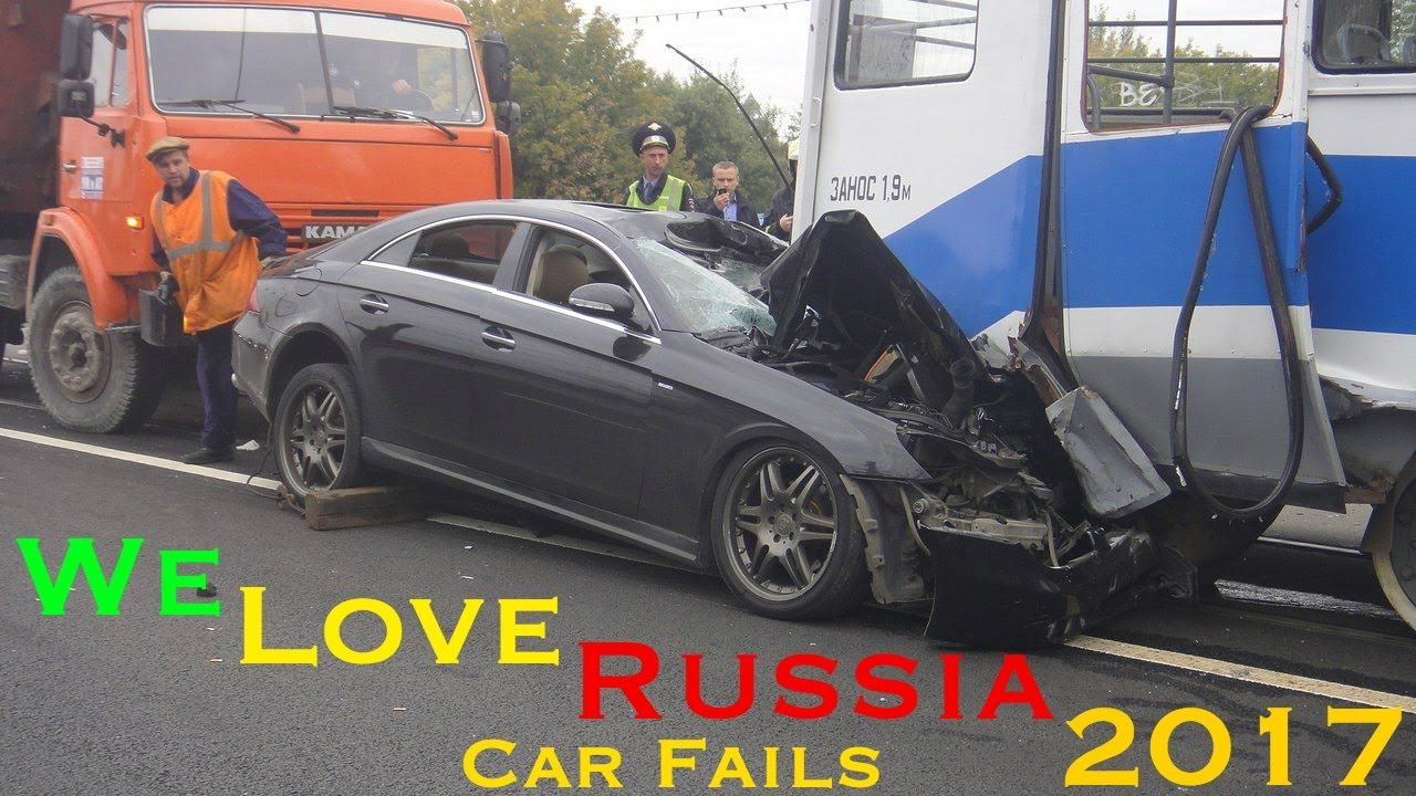 We Love Russia 2017 Most Epic Russian Car Fails Cars Crashes Fail C
