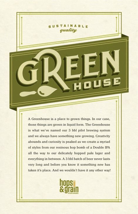 Beer Hops Grain Sell Sheet With Images Types Of Lettering