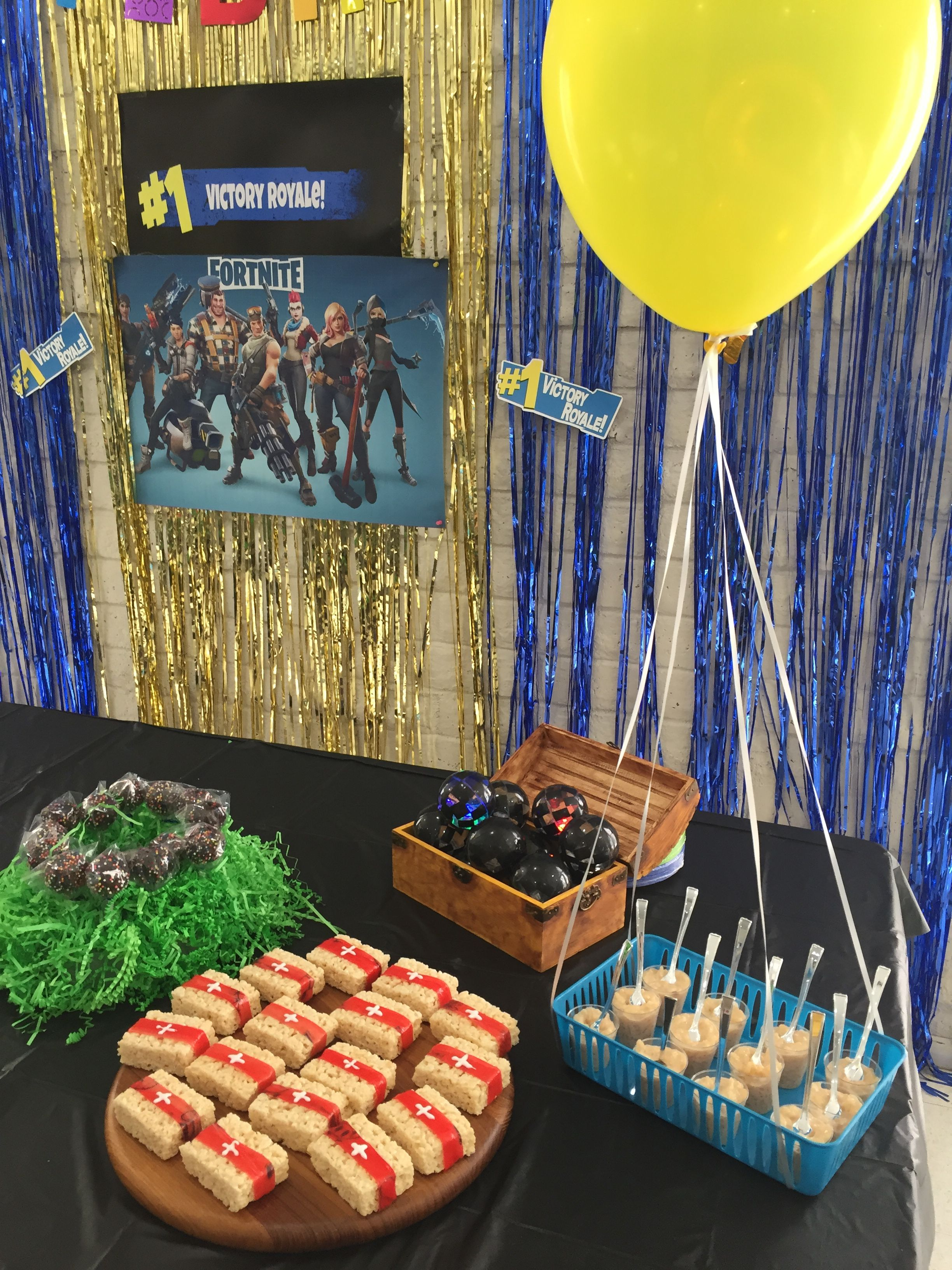 Pin On Fortnite Party Ideas