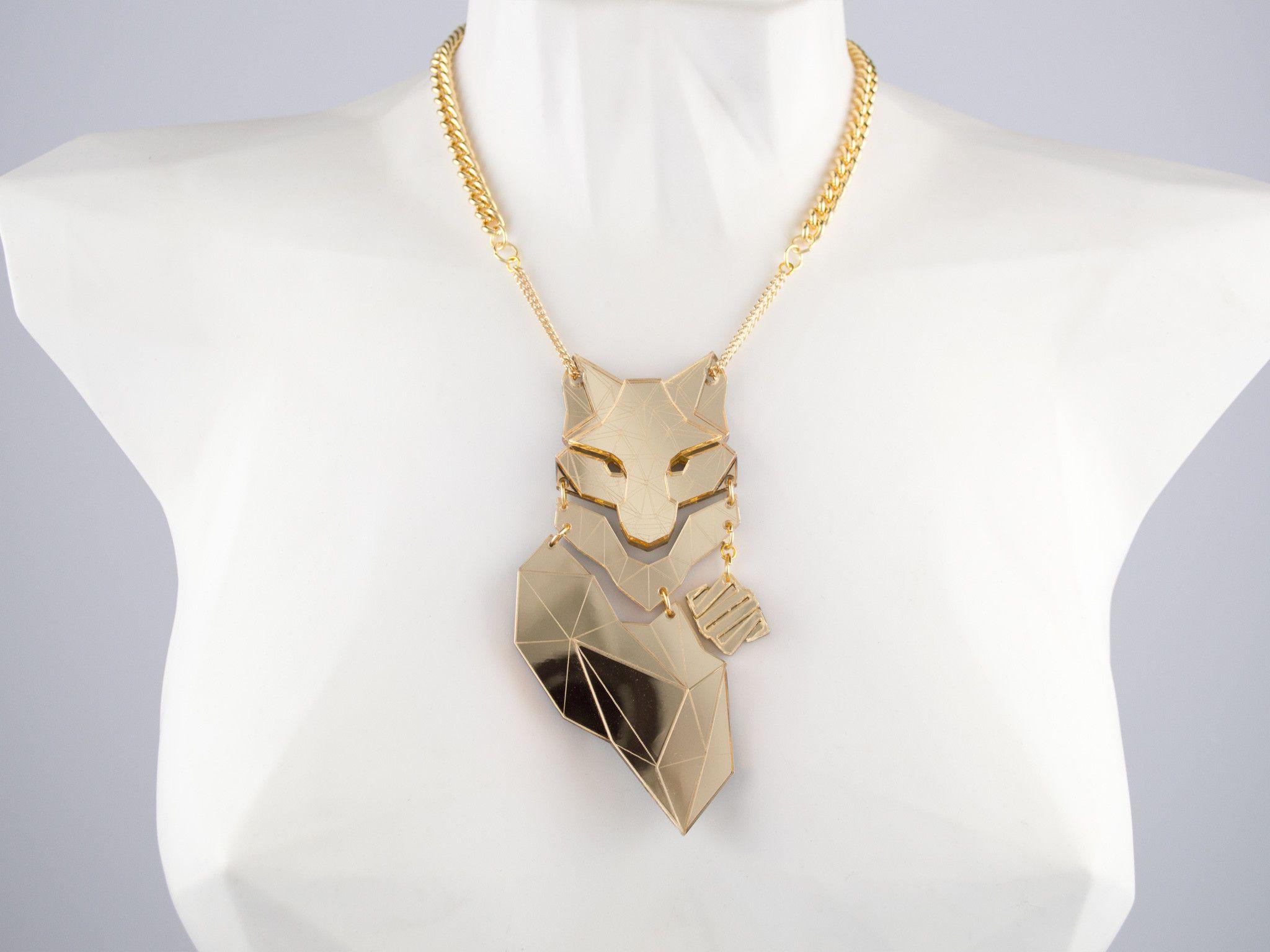 Fox - Gold Mirror