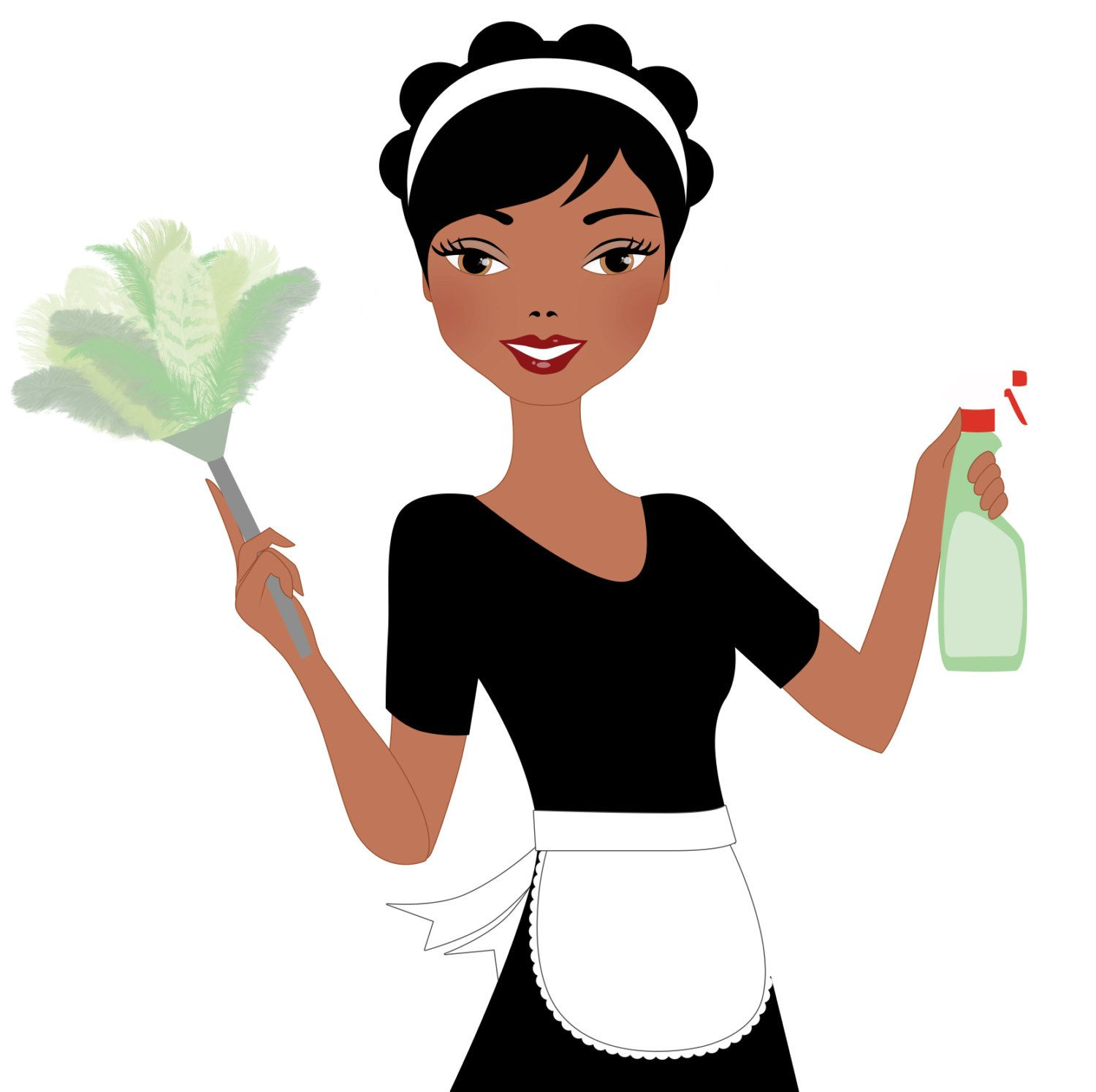 Maid Service Housekeeping Cleaner Cleaning Executive Black Woman Free Png Archive Cleaning Logo Lady Logo Cleaning Lady