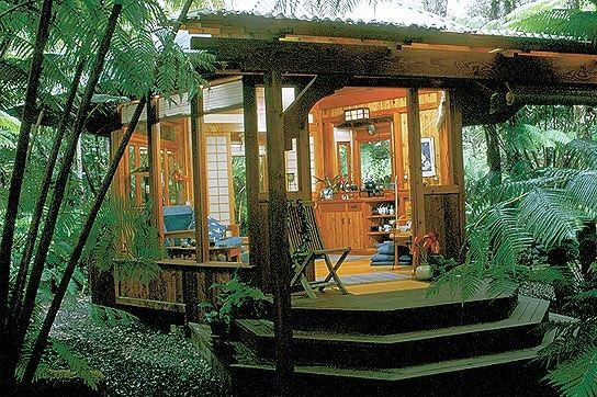 would love to go....Volcano Rainforest Retreat - Hawaii