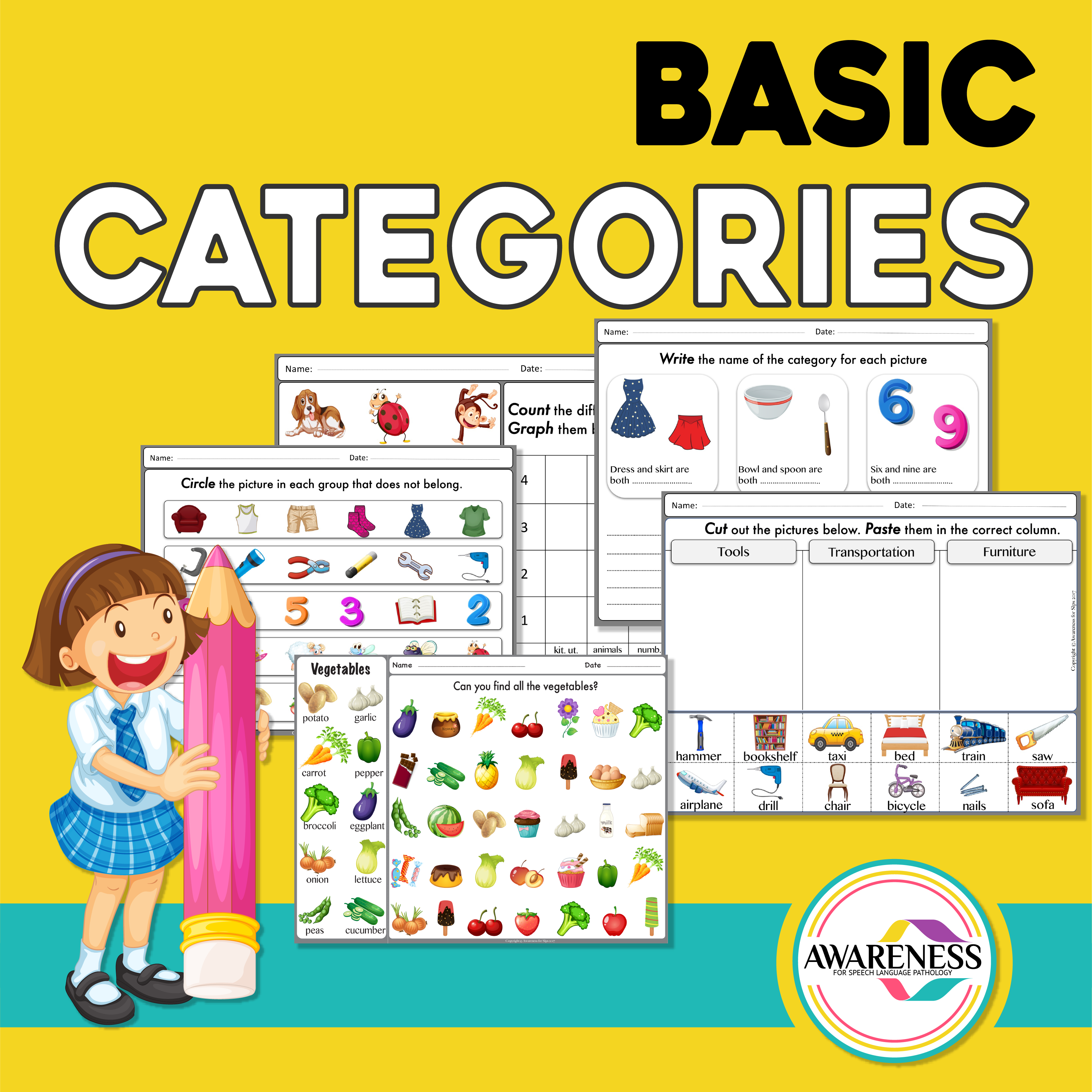 Basic Categories For Speech Therapy Is A Fun And Easy Way