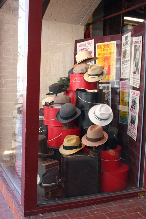 Hat Shop Austin Tx Hat Stores Hat Display Vintage Clothing Display