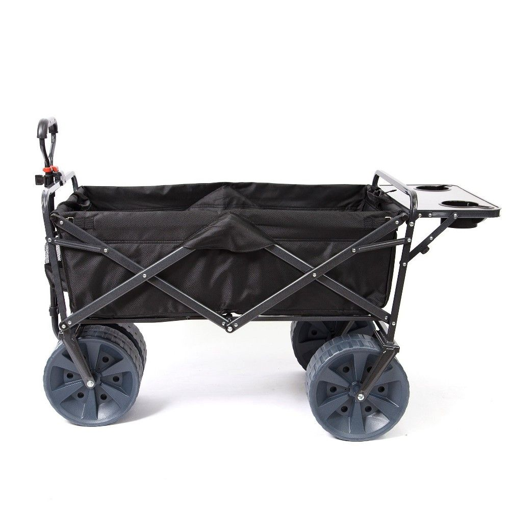 Folding Wagon w Table Outdoor Camping Shopping Home Garden