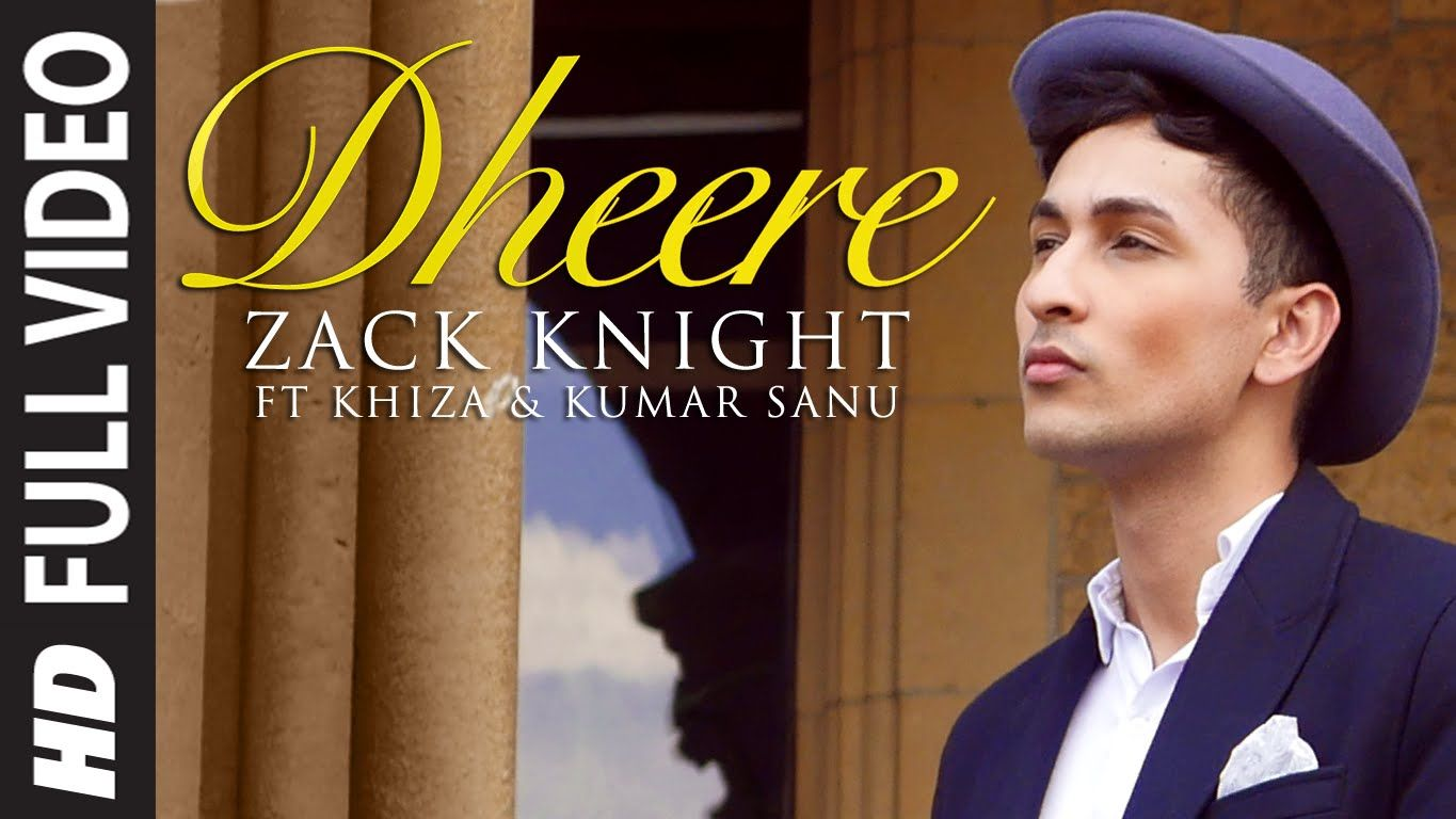 This one would surely strum the chords of your heart...Watch the latest song #Dheere by Zack Knight.