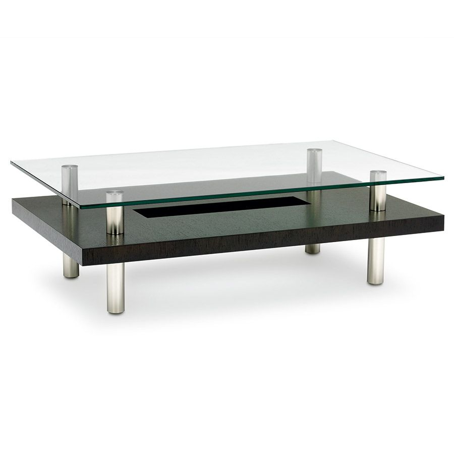Hokkaido Contemporary Cocktail Table By Bdi Coffee Table Rectangle Coffee Table Modern Coffee Tables [ 900 x 900 Pixel ]