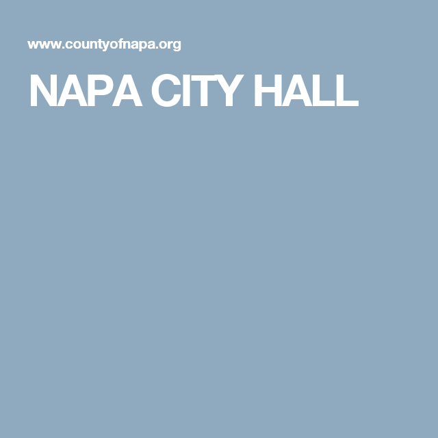 NAPA CITY HALL | Marriage Records | Pinterest | Marriage license
