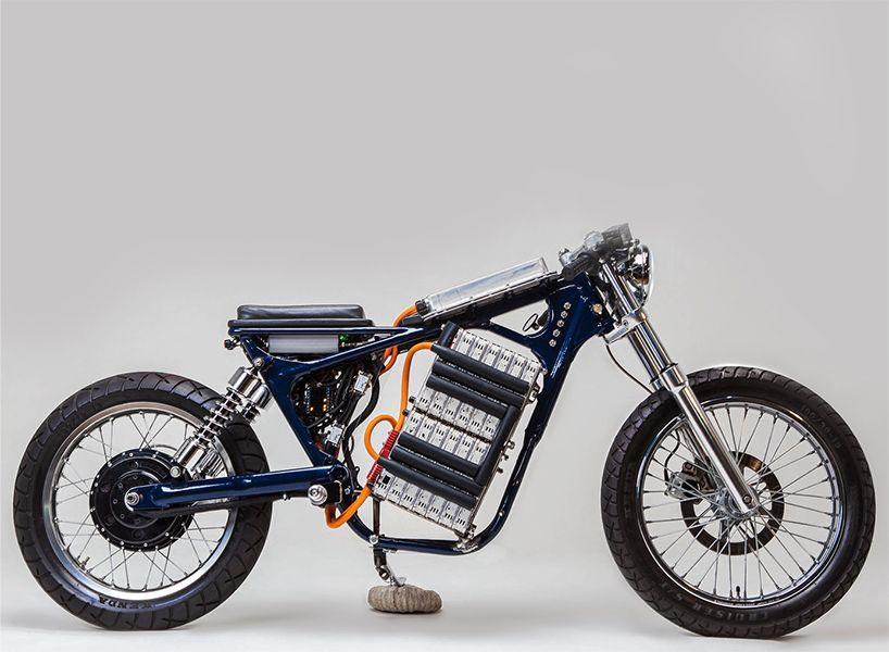 Nike Shift Have Created Two Electric Motorcycles; U0027rebelu0027   A Modified 1987  Honda