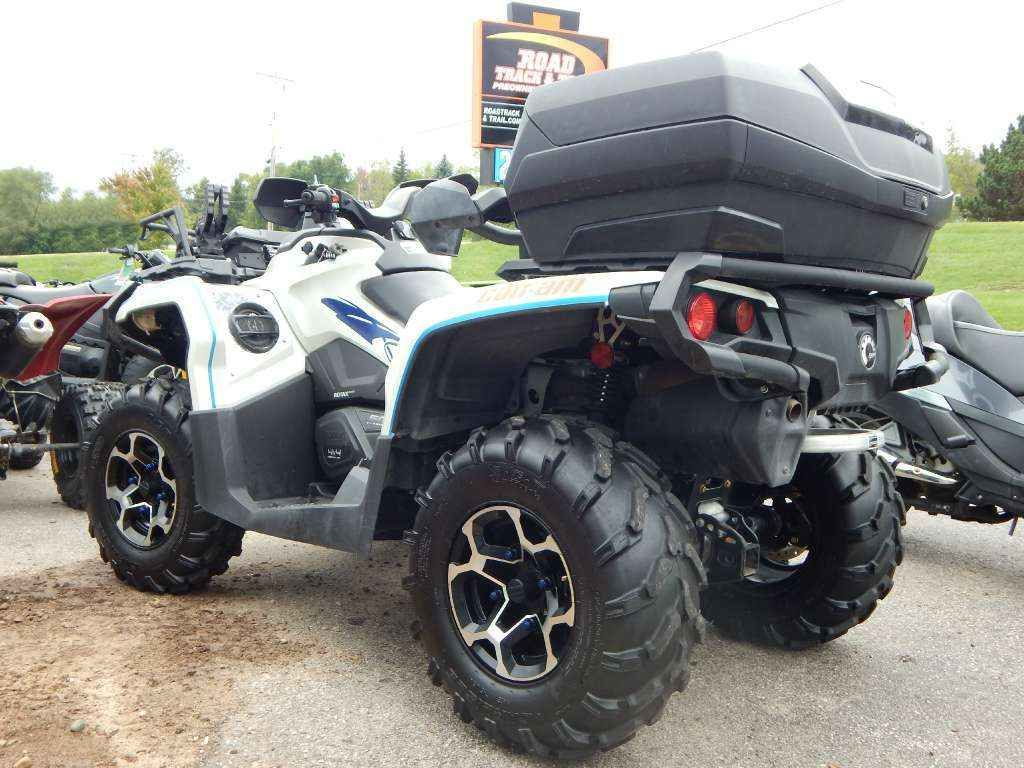 Used 2015 Can Am Outlander Max Xt 500 Atvs For Sale In Wisconsin 2015 Can Am Outlander Max Xt 500 1 Owner 3000lb Winch Rack Extension Outlander Can Am Atv