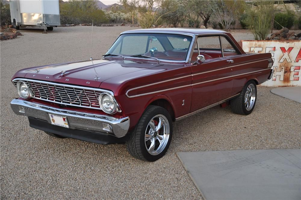 1964 Ford Falcon Custom 2 Door Hardtop Front 3 4 139189 1964 Ford Falcon Ford Falcon 1964 Ford