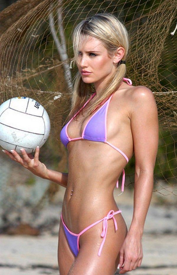 Tan naked beach body