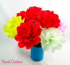 Resultado de imagem para flores estilizadas feitas de papel