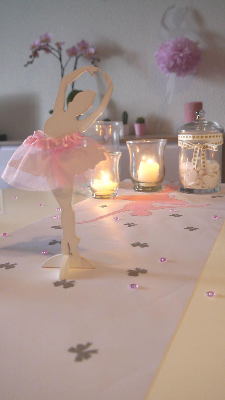 f4d41f5ffce20 Un thème danseuse pour votre décorations   Voici une inspiration de déco  sur le thème de la danse et danseuses ballerines. Pleins d idées déco à  découvrir