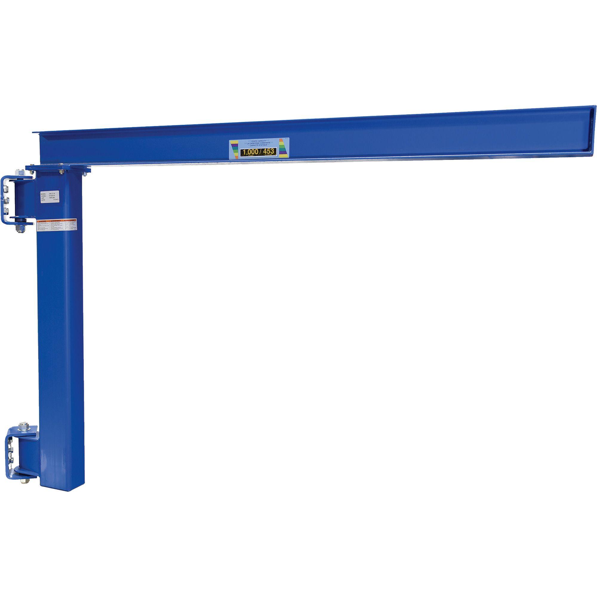 Vestil Wall Mounted Jib Crane For Low Ceilings Jib Cranes Low Ceiling Vestil Garage Hoist