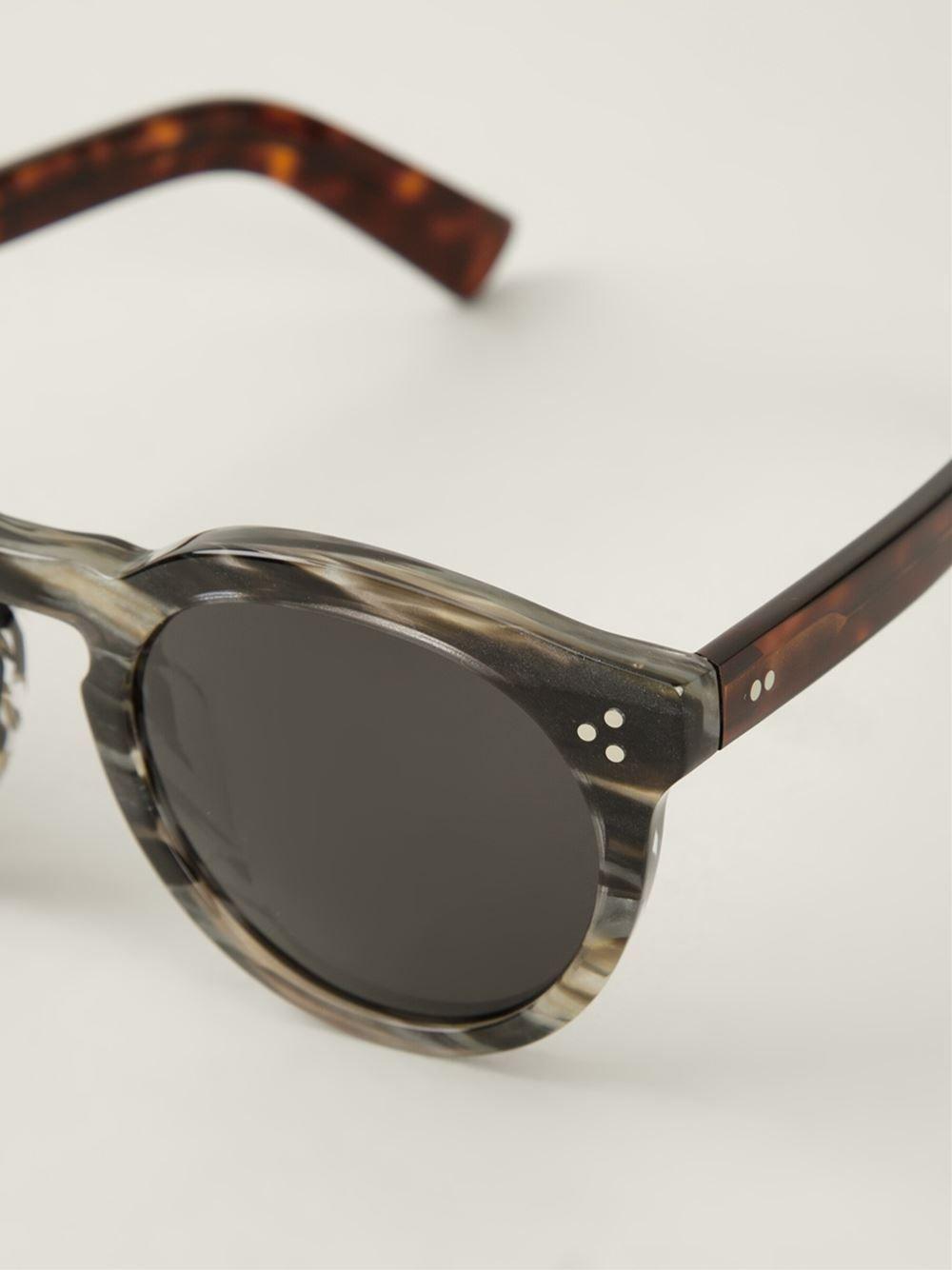 Illesteva 'Leonard' Marmor Sunglasses - Farfetch