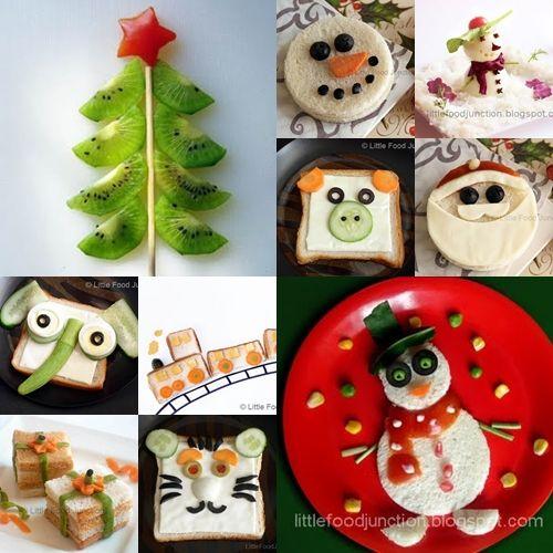 Recetas infantiles de navidad recetas divertidas - Comidas para un cumpleanos ...