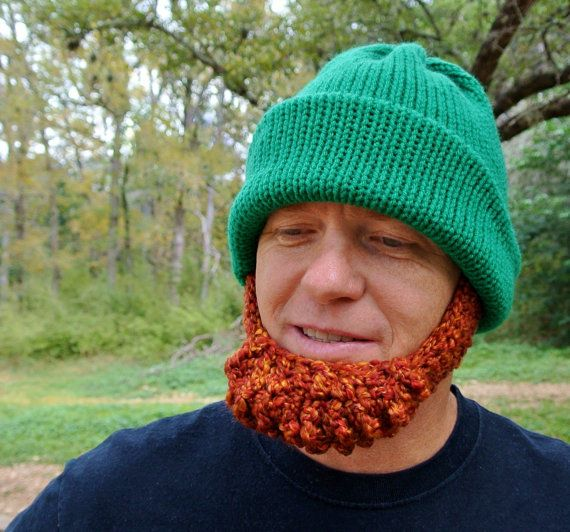 IRISH Beard Beanie Hat Made to Order Irish by Celina Lane, Simply ...