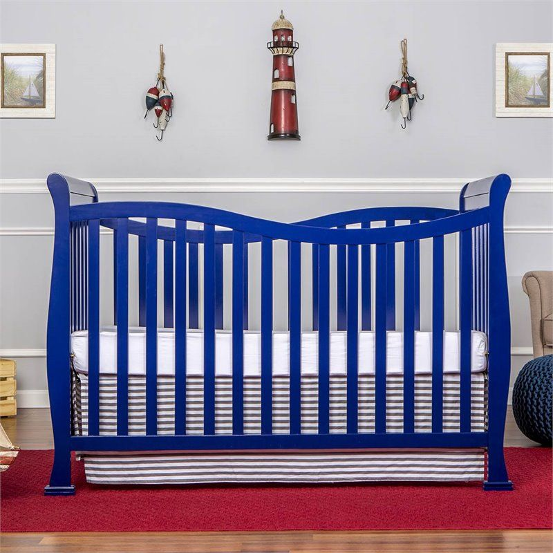 Dream on me violet 7in1 convertible life style crib in
