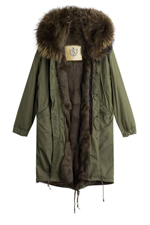 With Lining Coat as65 parka Parka As65 Fur cloth InEUZqqx