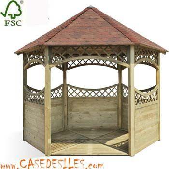 Kiosque bois au Meilleur Prix : Kiosque bois de jardin 0710011