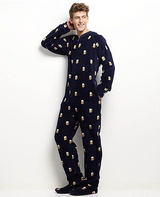 44d33cbdcb100 Beer Mug Footie PJs for