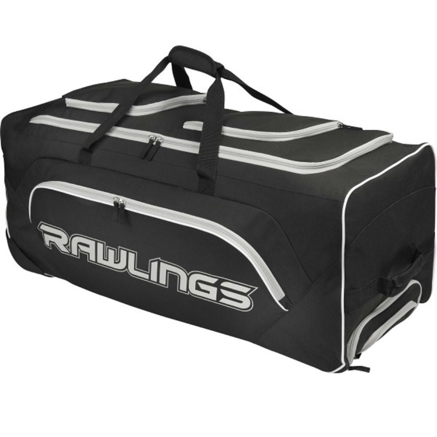 078aabcd1ad1 Rawlings Wheeled Catchers Bag - Black