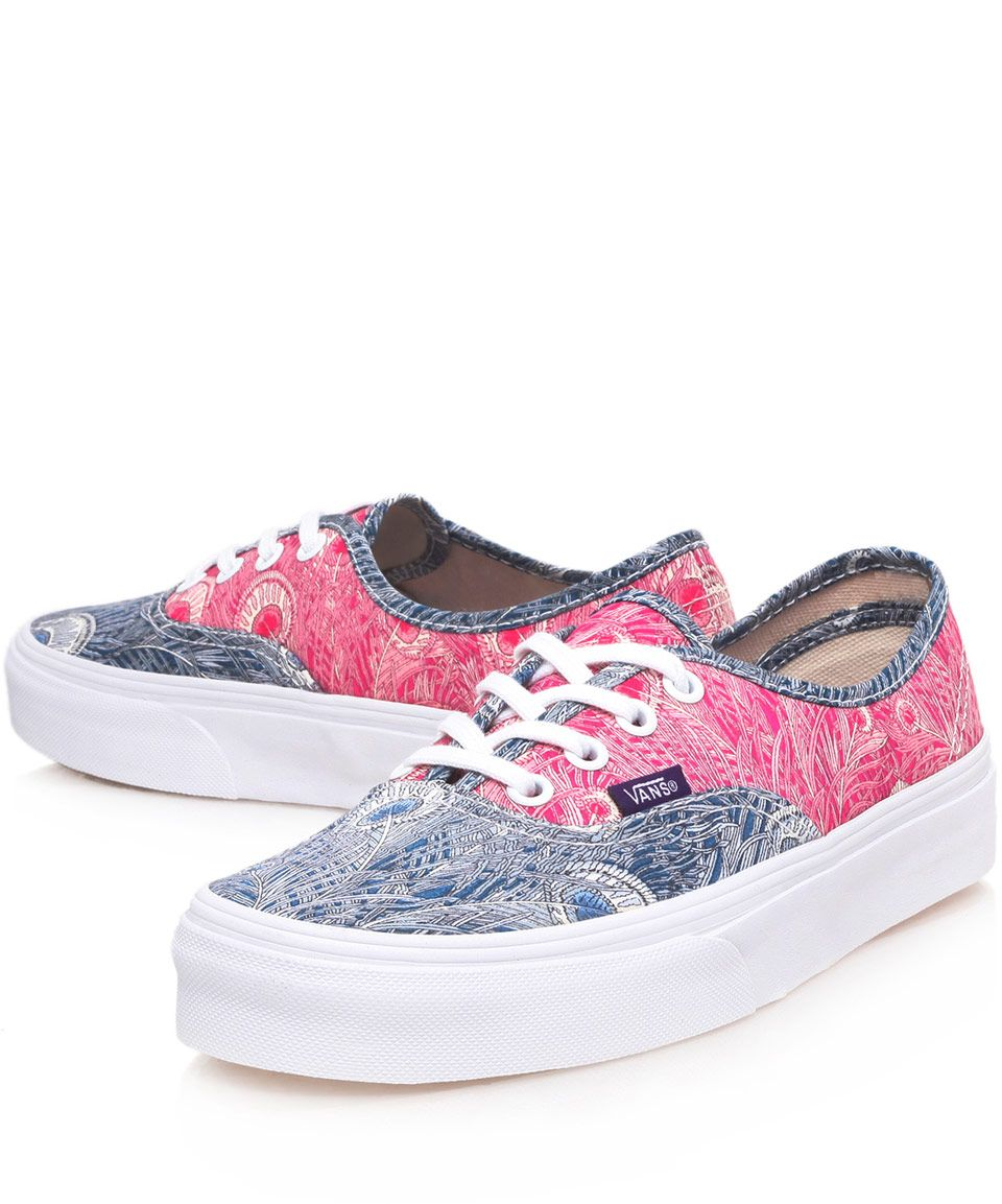4aa1a340491a1 Vans x Liberty Art Fabrics Blue Hera Liberty Print Authentic Trainers | Women's  Shoes by Vans | Liberty.co.uk