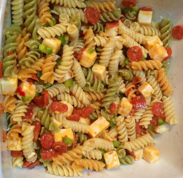 Easy and delicious pasta salad recipe food pinterest for Ideas para cocinar pasta