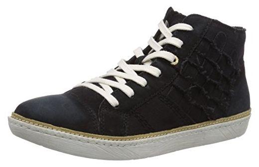 Bugatti J50261G6, Damen Hohe Sneakers, Schwarz (schwarz 100
