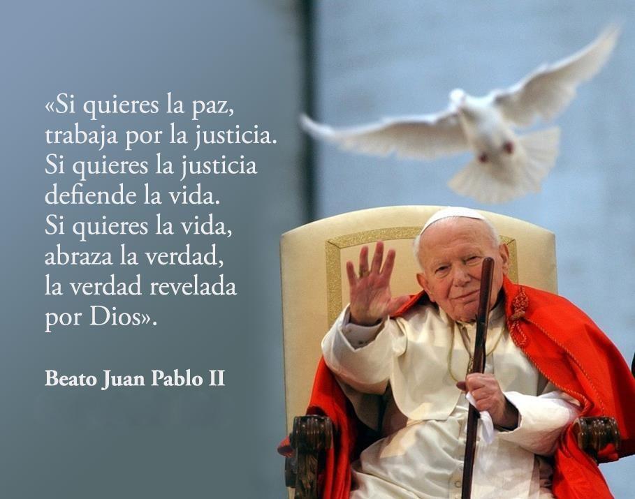 Juan Pablo Ii Reflexiones De Dios Papa Juan Pablo Ii Y