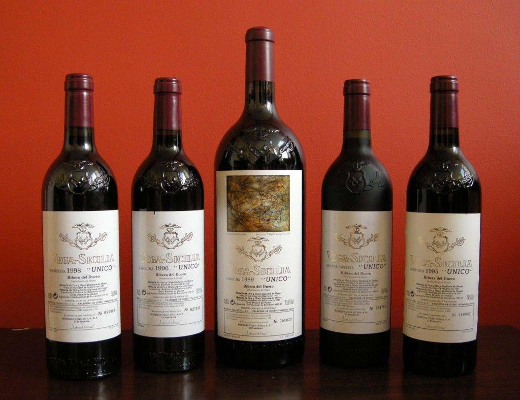 Vega Sicilia Unico The Rarest Spanish Wine Do Ribero Del Douro Wine Gift Boxes Wine Bottle Spanish Wine