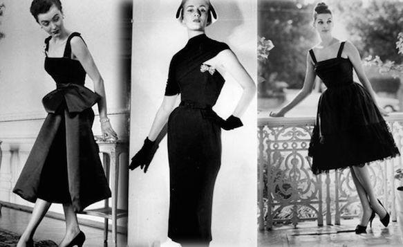 e95adfa6349 petite robe noire Christian Dior