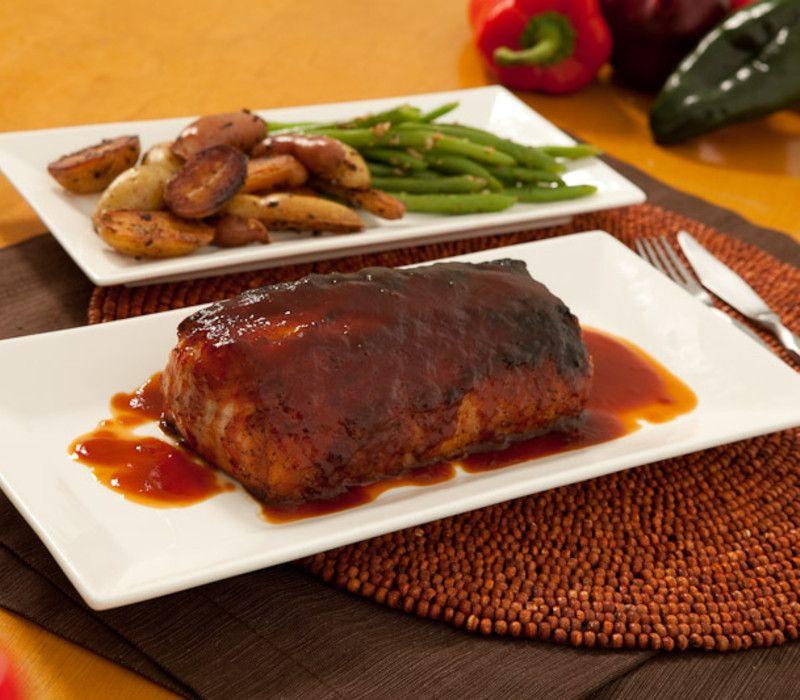 Pork Loin with Coca Cola BBQ Sauce | Chef G. Garvin | chefgarvin.com