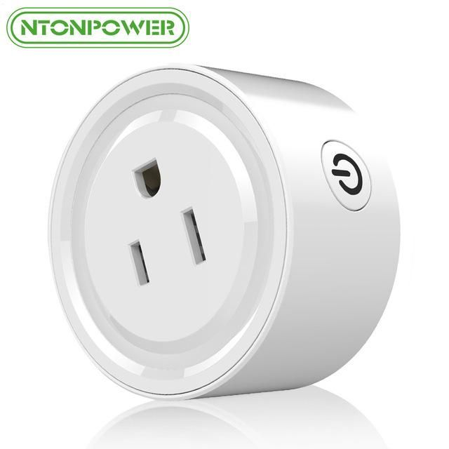 NTONPOWER WF Mini Smart Wifi Socket US Plug Remote Control Power ...