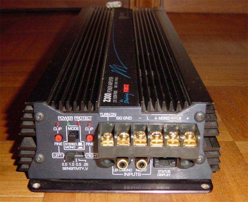 Zapco Z300 Sound System Car Car Stereo Car Speaker Box
