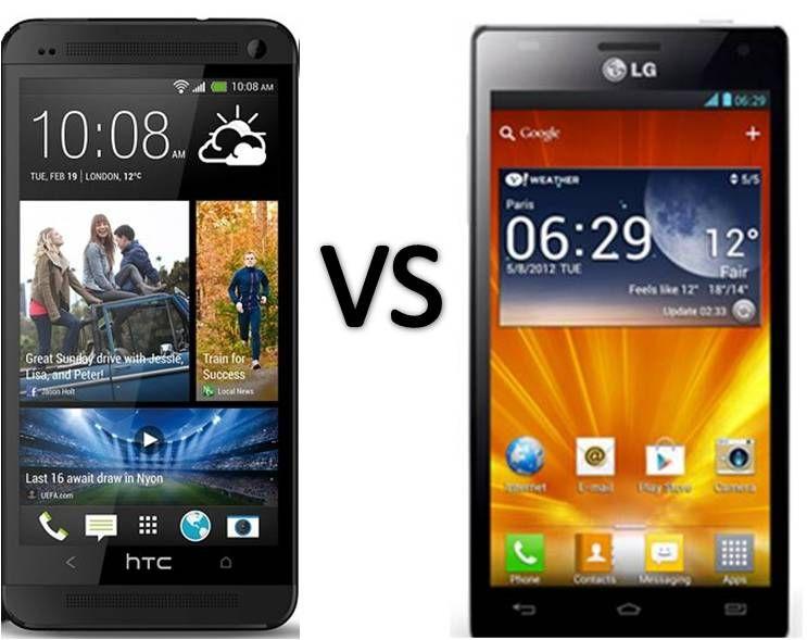 Compare HTC One vs LG Optimus 4X HD