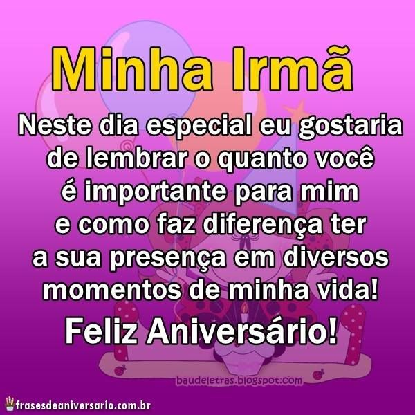 Feliz Aniversario Amiga Irma Importate Para Mim Felicitações