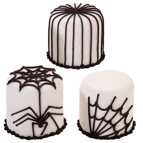 Spider theme mini cakes Cakes  Cupcakes for Every Occasion - wilton halloween cupcake decorations