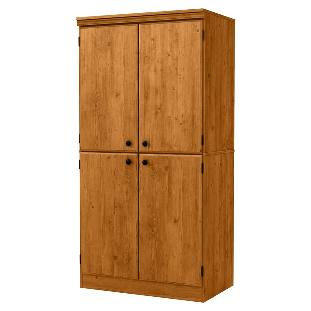 Morgan 4 Doors Storage Cabinet Country Pine Door Storage Storage How To Antique Wood