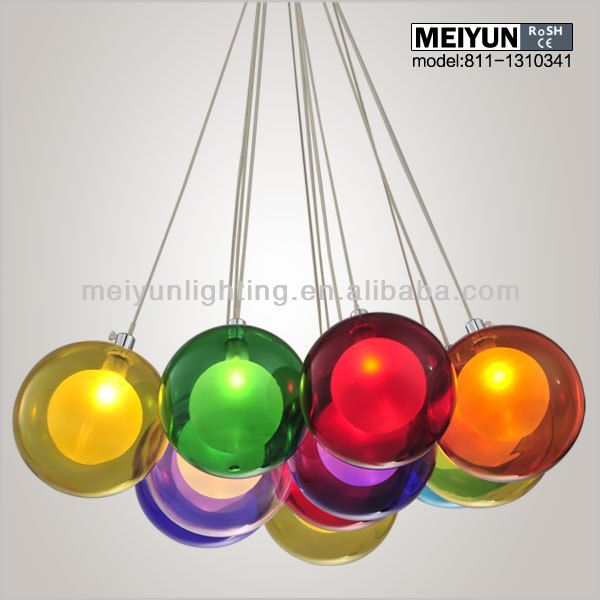 Multi color glass pendant light photo detailed about multi color multi color glass pendant light learn about multi color glass pendant light product details pictures in chandeliers pendant lights from zhongshan meiyun aloadofball Images