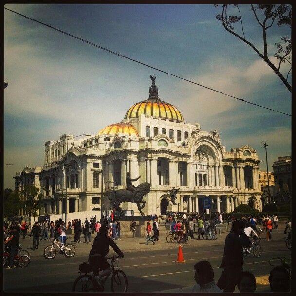 Palacio de Bellas artes. Mexico city