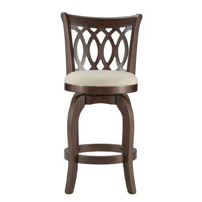 found it at wayfair belle isle 24h swivel bar stool with cushion