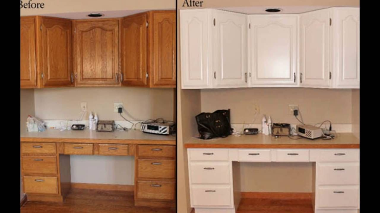 How To Paint Timber Kitchen Cabinets Feels Free To Follow Us Di 2020