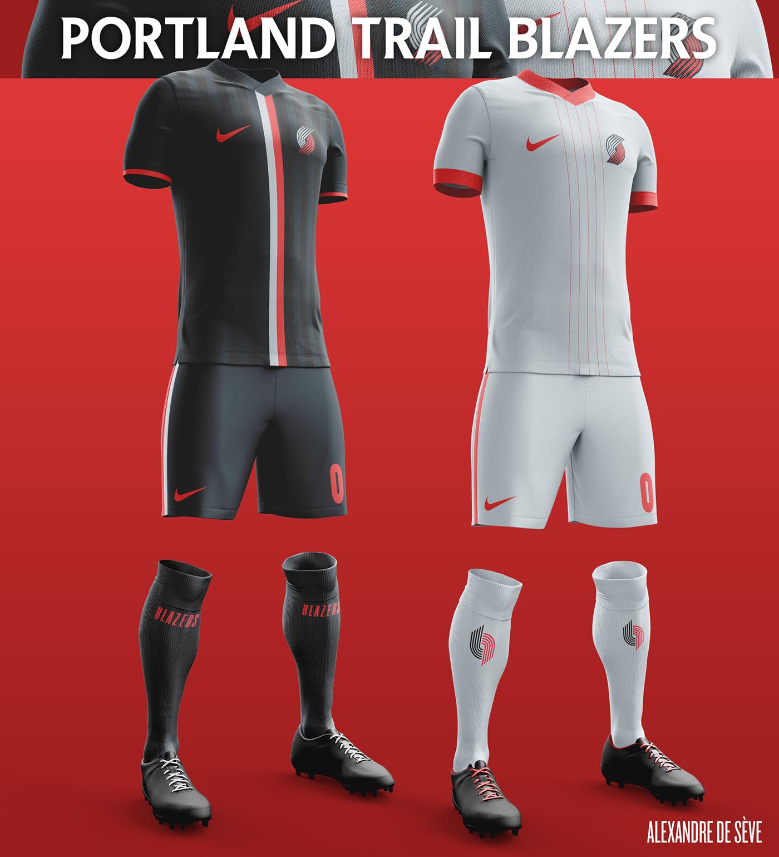 f2026ca75e NBA football kits on Behance